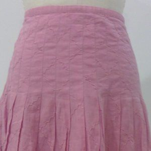 Calvin Klein Pleated Pink Skirt Size 0